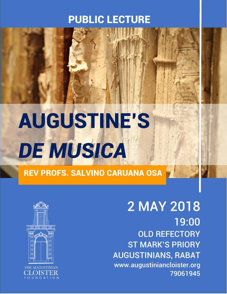PUBLIC LECTURE De Musica
